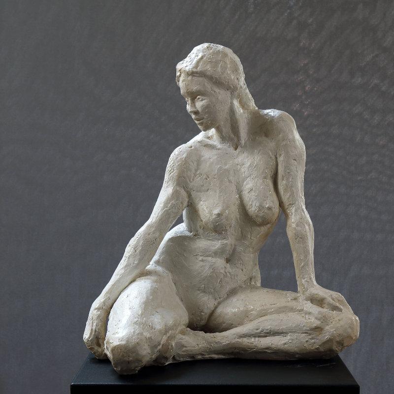 En hommage à Camille Claudel n°1, sculpture Plâtre numéroté de 1 à 8 par Juliette Trébuchet, artiste à Angers