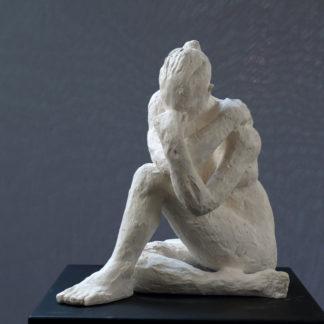 En hommage à Camille Claudel n°3, sculpture Plâtre numéroté de 1 à 8 par Juliette Trébuchet, artiste à Angers