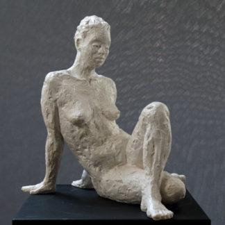 En hommage à Camille Claudel n°4, sculpture Plâtre numéroté de 1 à 8 par Juliette Trébuchet, artiste à Angers