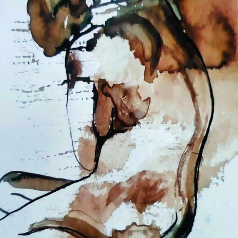 Corps traversés, une série de Nus par l'artiste angevine Juliette Trébuchet